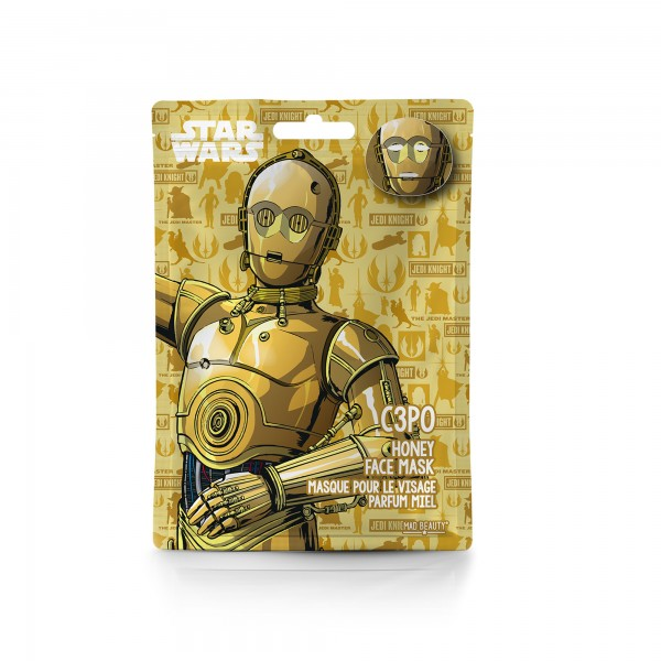 Disney Star Wars C3PO Gesichtsmaske