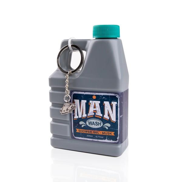 "Duschgel ""Man Wash"" Für Männer im Motoröl Kanister"