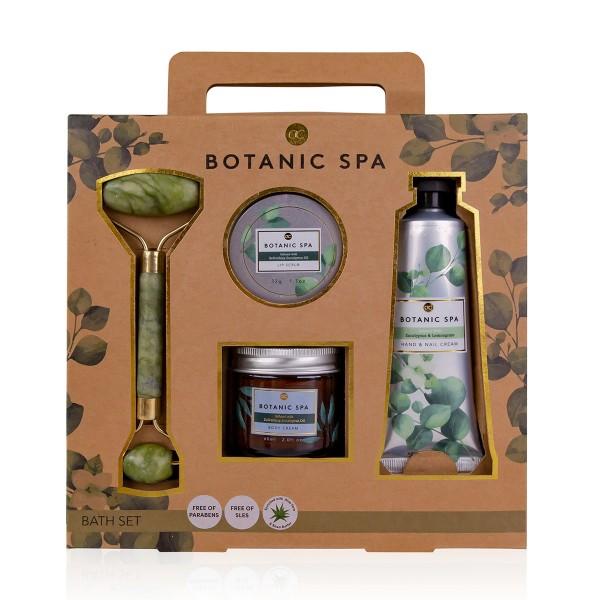 Geschenkset Botanic Spa mit Massageroller