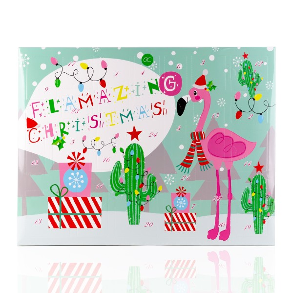 Adventskalender Flamingo