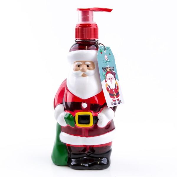 Seifenspender Weihnachtsmann mit Flüssigseife