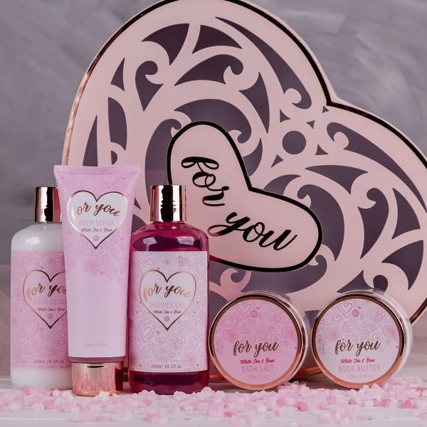 """Geschenkset """"Hearts"""" in Geschenkbox"""
