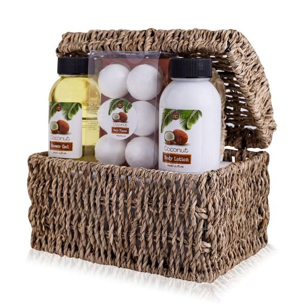 Wellness Geschenkset Coconut in Truhe