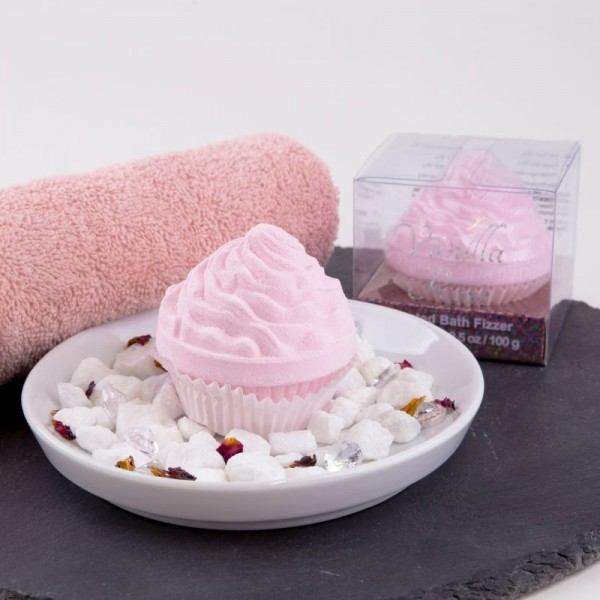 Badekugel Cupcake
