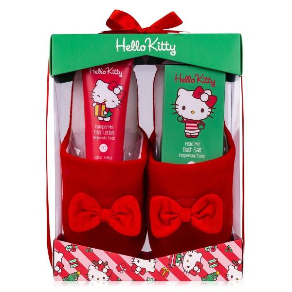 Hello Kitty Geschenkset mit Hausschuhe