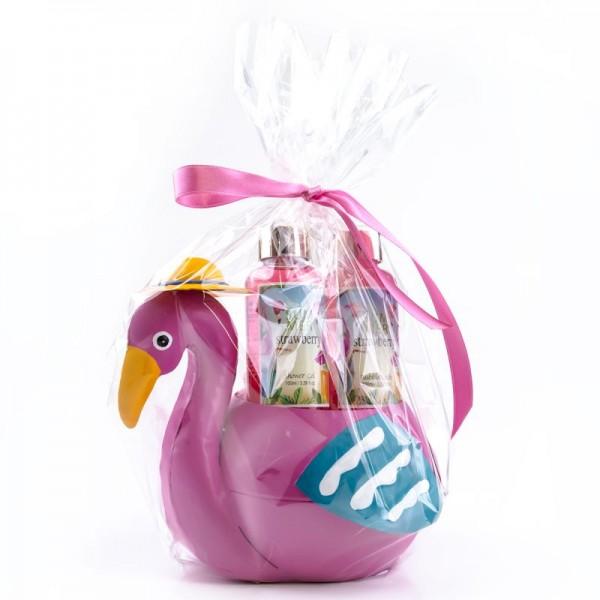 Geschenkset für Frauen Flamingo