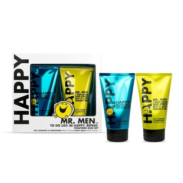 Geschenkset MR. HAPPY / Mister Glücklich