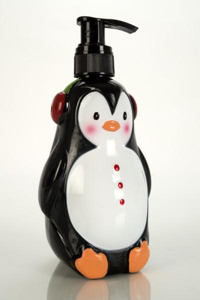 Seifenspender Pinguin mit Flüssigseife