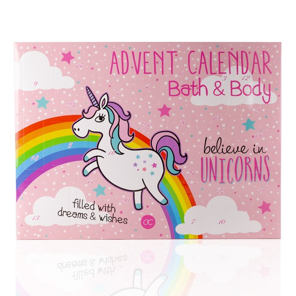 Beauty Adventskalender Einhorn - Believe in Unicorns