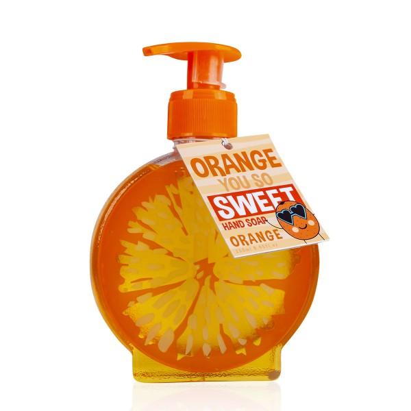 """Handseife """"Orange you so sweet"""" im Pumpspender"""